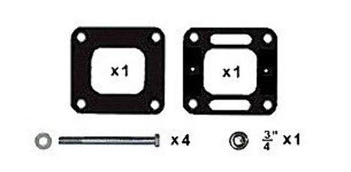 Exhaust Riser Stud  Mercruiser V6 V8 w//S.S Elbow 16-97520
