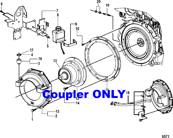 Mercruiser Coupler Diagram
