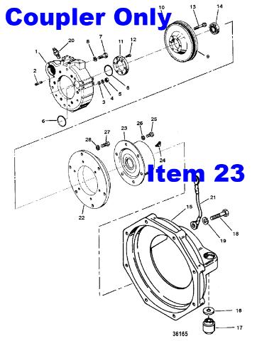 Nib mercruiser diesel engine coupler coupling 805684a2 for nib mercruiser diesel engine coupler coupling 805684a2 for flywheel housing sciox Choice Image