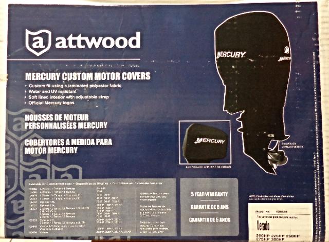 Attwood Motor Engine Top Cover Mercury Verado 4 Cyl 200HP 6 Cyl 225-250-300HP MD