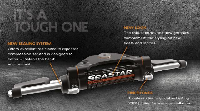 Details about SeaStar Hydraulic Steering Cylinder HC5345 Yamaha Mercury  Suzuki Tohatsu Force