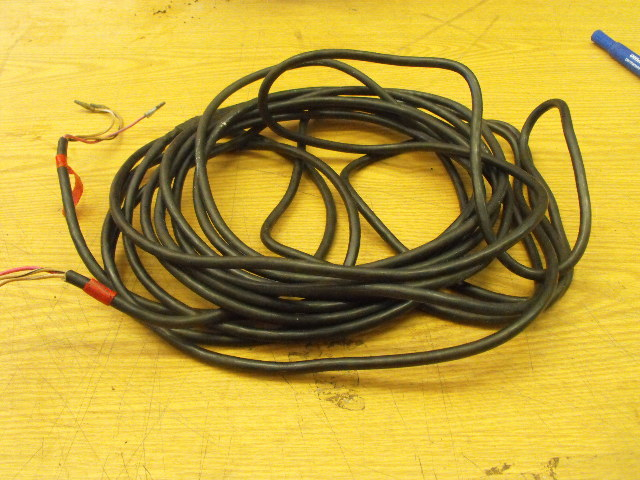 yamaha outboard gauge power cable 3 wire wiring harness fused & cut four winns gauges yamaha outboard gauge power cable 3 wire wiring harness fused & cut 15'