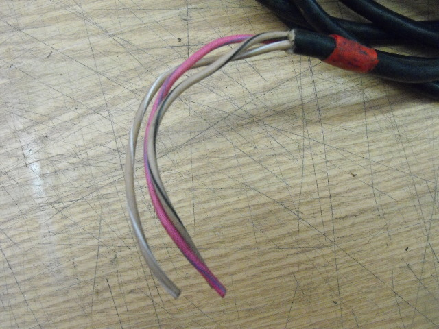 yamaha outboard gauge power cable 3 wire wiring harness fused & cut boat trim gauge click thumbnails to enlarge
