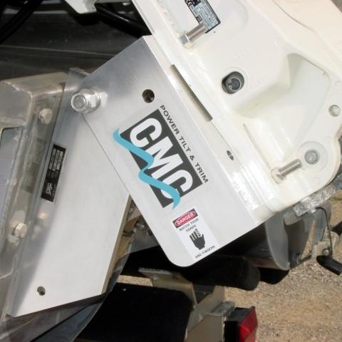 Cmc Power Tilt Trim Up To 130 Hp Outboard Jack Plate Set