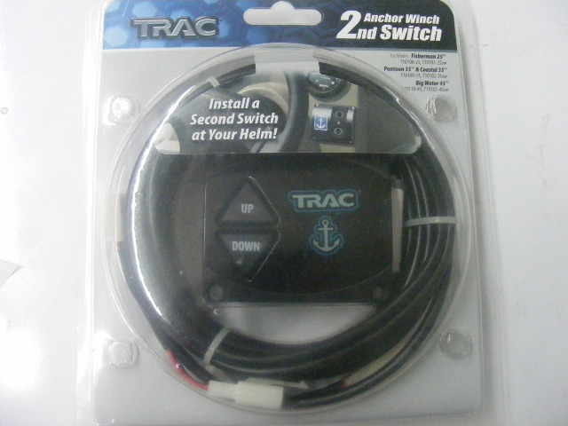 Trac anchor winch second switch kit with 16 cable connector 4 click thumbnails to enlarge sciox Choice Image
