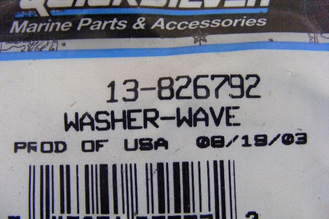 NEW Mercury Mariner Lock Washer 13-26996 Outboard Lockwasher