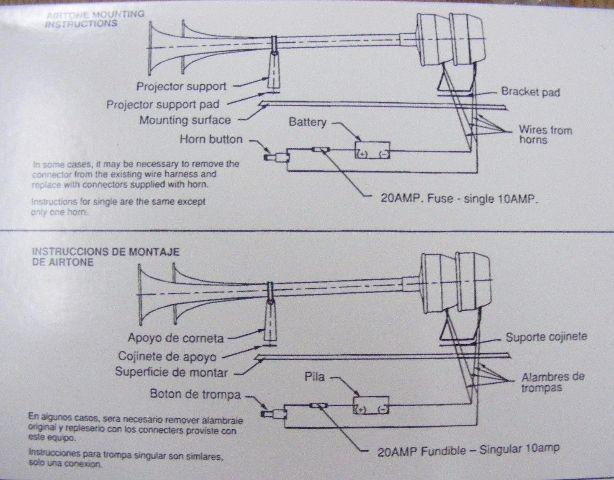Boat Air Horn Wiring Diagram