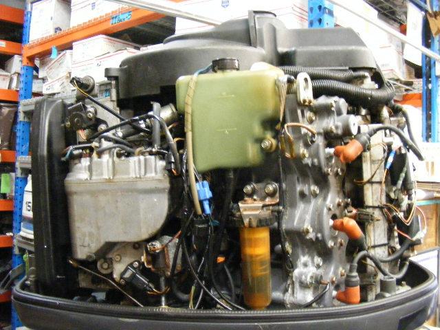 2001 yamaha 150 hp hpdi outboard 25 shaft rh engine motor for Yamaha 150 2 stroke
