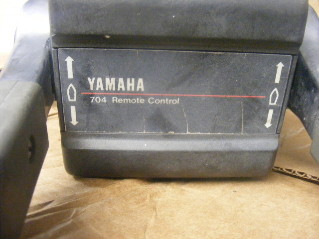 Boat Controls Top Mount Boxes : Yamaha binnacle top mount control box trim switch outboard