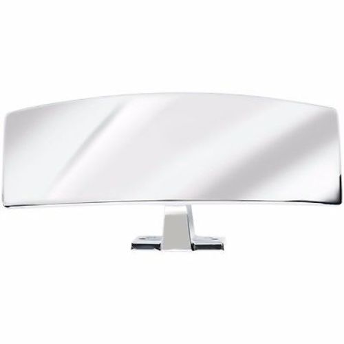 Attwood Ski Mirror Universal Mt Premium Chrome-Plated #9083-7