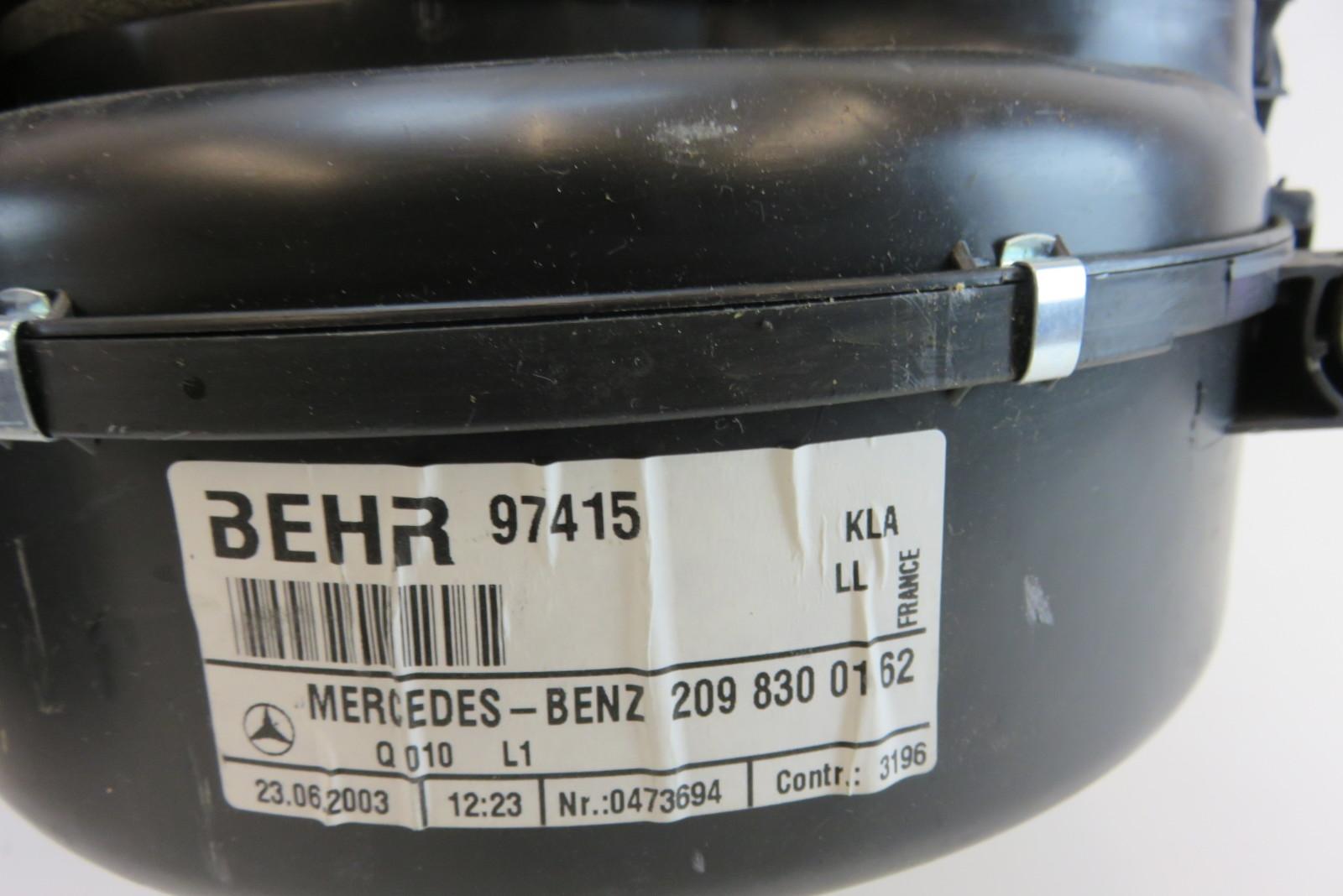 For Mercedes Genuine HVAC Unit Case 1298350209