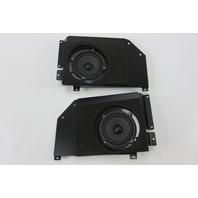 03 Aston Martin DB7 rear speaker set w/ brackets speakers (2)