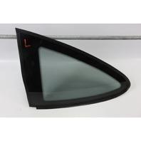03 Aston Martin DB7 left rear quarter window glass