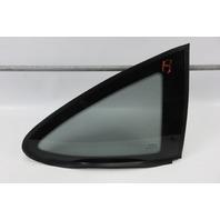 03 Aston Martin DB7 right rear quarter window glass