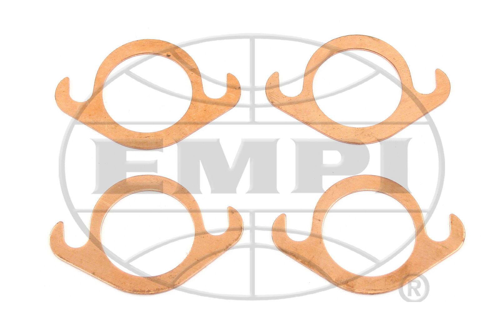 EMPI VW Air Cooled Bug, Baja, COPPER SLIP-FLANGE EXHAUST