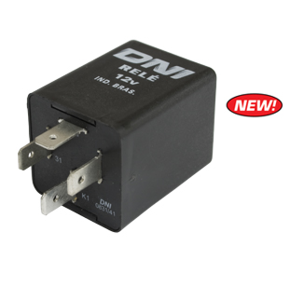 Turn Signal Flasher Relay 12 Volt 4 Prong Vw Type 1 2 3 68 70 To