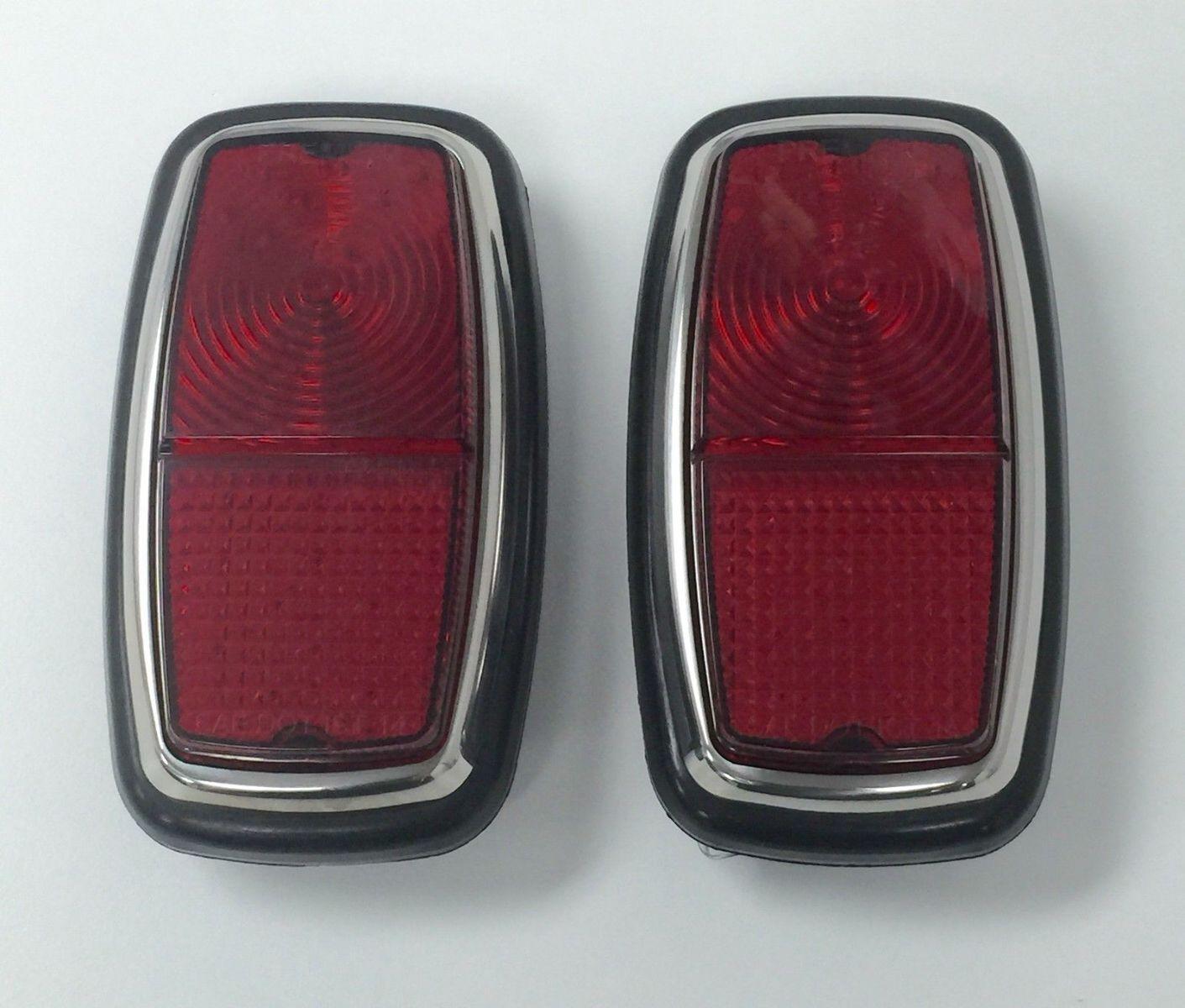 Details about 1963-67 Shelby Cobra LED Tail Light Assembly Set