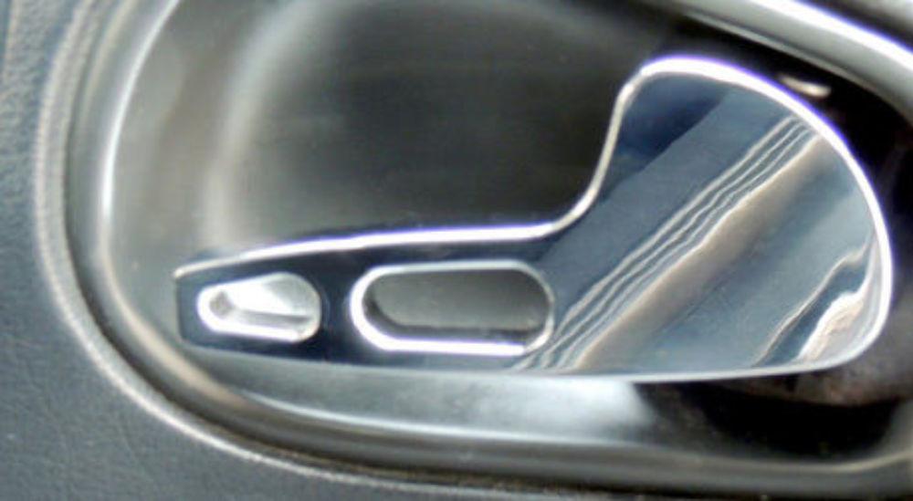 ... 1994 2004 Ford Mustang Chrome Billet Interior Door Handles
