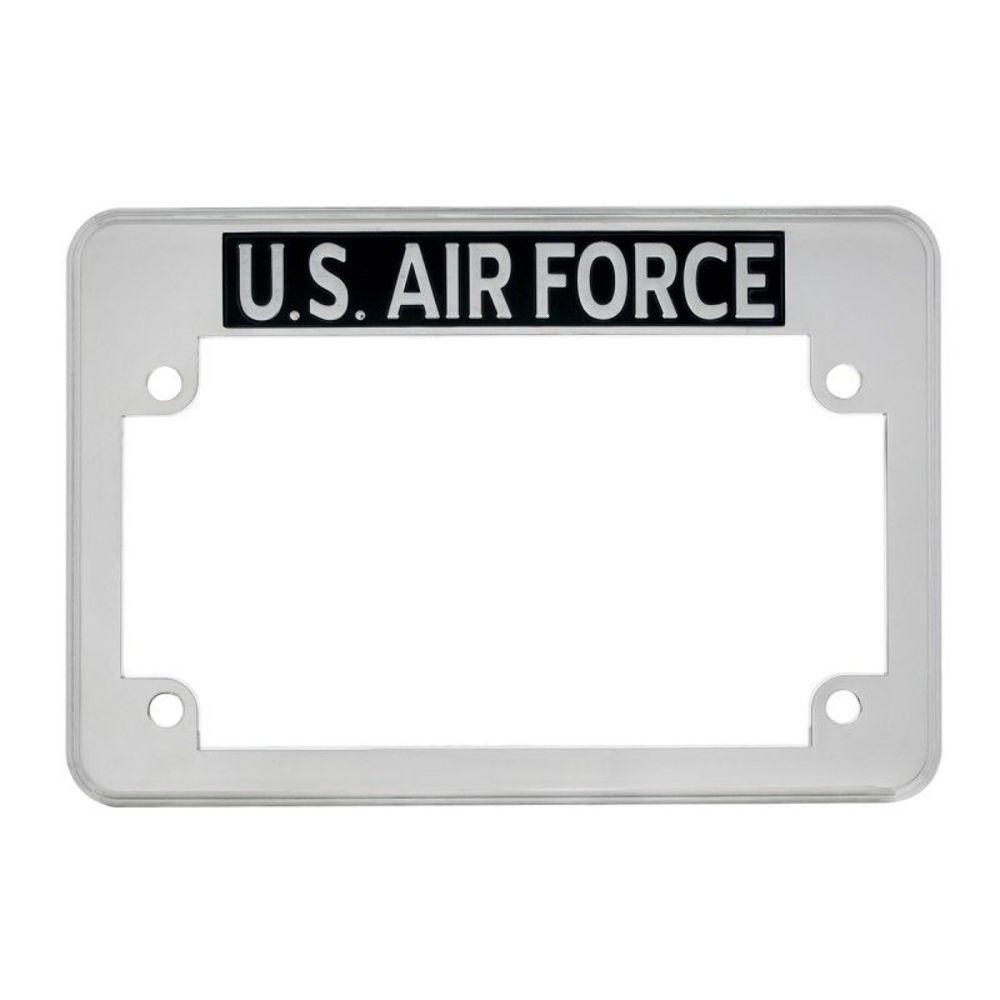 u.s. air force motorcycle license plate frame - fits harley
