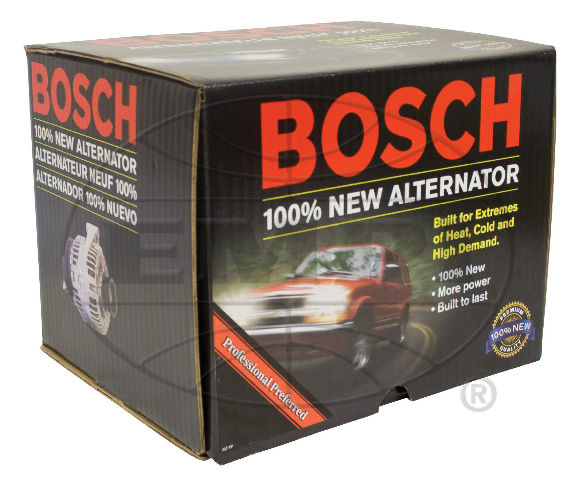 vw bug air cooled new bosch al82n 12volt 55amp alternator. Black Bedroom Furniture Sets. Home Design Ideas