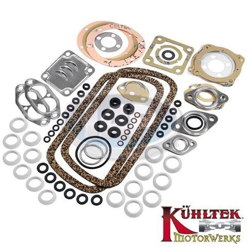 VW Air Cooled Complete Engine Gasket Kit KUHLTEK DUAL PORT 1600cc