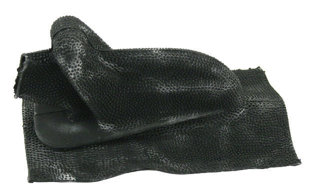 Air Cooled VW Beetle Type 3 Thru 1965, Emergency Brake Boot, Black  9952-B-X