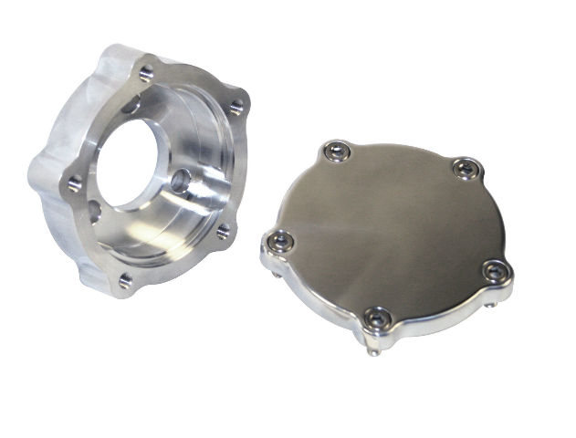 VW Bug Billet Steering Wheel Adapter  5 Hole To 3 Hole Front Mount,2 PC  16-9815