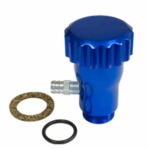 Blue Oil Filler w/ Cap  VW, Bug, Beetle EMPI 18-1098