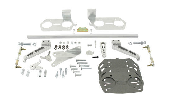 VW / PORSCHE TYPE 2/4 1700-2000 914 HEX BAR LINKAGE KIT WEBER IDF  43-5224