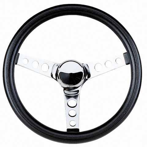 "Steering Wheel 11-1/2 - 3 3/4"" Dish Rat Rod Hot  VW Dune Buggy Sand Rail 79-4051"