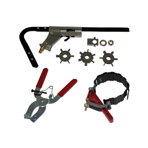 Piston Ring Installation Kit - Wrinkle Band Compressor Ring Groove Cleaner
