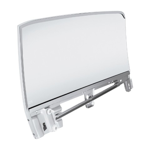 Complete Clear Door Glass Assembly For 1967-68 Ford Mustang Convertible - L/H