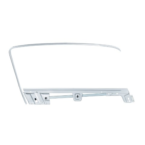 Door Glass Frame Kit For 1967-68 Ford Mustang Fastback -  R/H