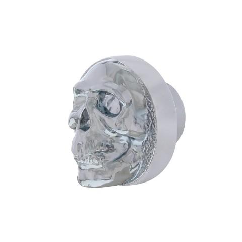 Chrome Skull Universal Dash Knob For Car Truck Hot Rod Rat Rod Street Rod V8