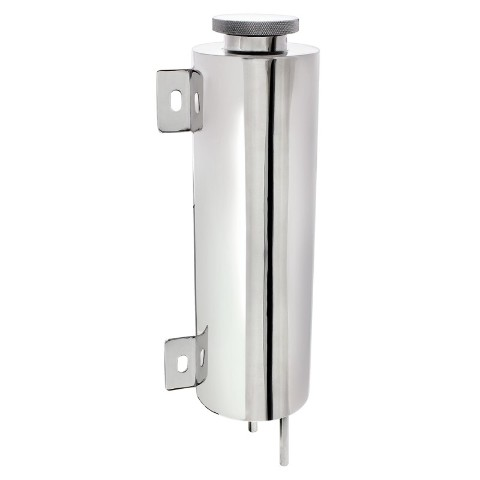 "Stainless 3"" X 10"" Radiator Overflow Tank"