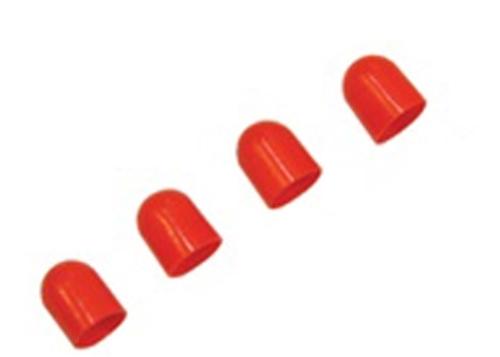 V6-0085-9 LGHT DFFSR,TYPE D,PNUT,RED