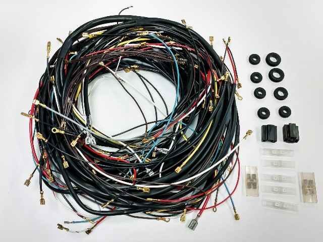 Australian Made Wiring Harness : All karmann ghia vw complete wiring works wire