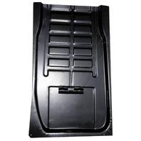 VW Bug Baja  Metal Replacement Floor Panels Rear Right, w/ Battery Bkt 3553