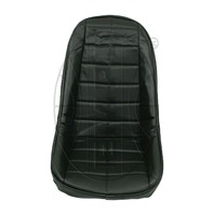 VW BUG BAJA ROCK CRAWLER SAND RAIL LOW-BACK VINYL SEAT COVER, BLACK