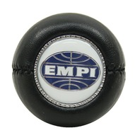 "EMPI  VW BUG SHIFT PATTERN GEAR SHIFT KNOB ""EMPI LOGO"" BLACK 4540"