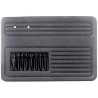 EMPI VW AIR COOLED  BUG 1958-64  Black 4-piece door panel kit with pockets, 4852