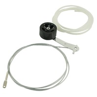 9' Heavy Duty Throttle Cable Kit, w/ Roller Pedal, Fits Bug/Buggy/Sand Rail