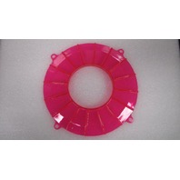New EMPI VW Neon Pink Finned Backing Plate Cover - Dune Buggy Baja Bug 8636
