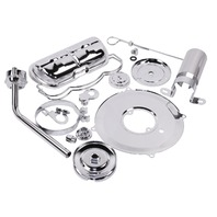EMPI VW Bug, Beetle Baja Complete Chrome Engine Dress Up Kit #8742