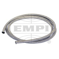 VW BUG AIR COOLED, 25' LENGTH BRAIDED STAINLESS STEEL INTAKE/FUEL LINE 1/4 I.D