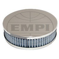 EMPI VW TYPE 3 & 4 CHROME AIR CLEANERS FOR DUAL 34 ICT/EPC. EACH 9128