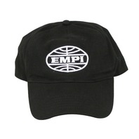 Empi Hat, Baseball Cap ,VW , Low profile Black w/ Embroidered Logo  9892