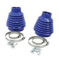 VW Bug, Baja Sand Rail Buggy Deluxe Rear Swing Axle Boots Blue Pair 9980