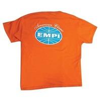 Empi T-Shirt VW Bug American Classic Logo 100% Cotton Orange  XX-Large  15-4027