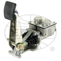 "Baja Rock Crawler H.D. 4 Wheel Brake, Single Pedal, 3/4"", w/Low Sq.Reservoirs,"